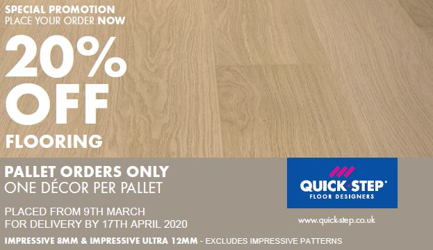 Quick-Step Flooring March Sale!