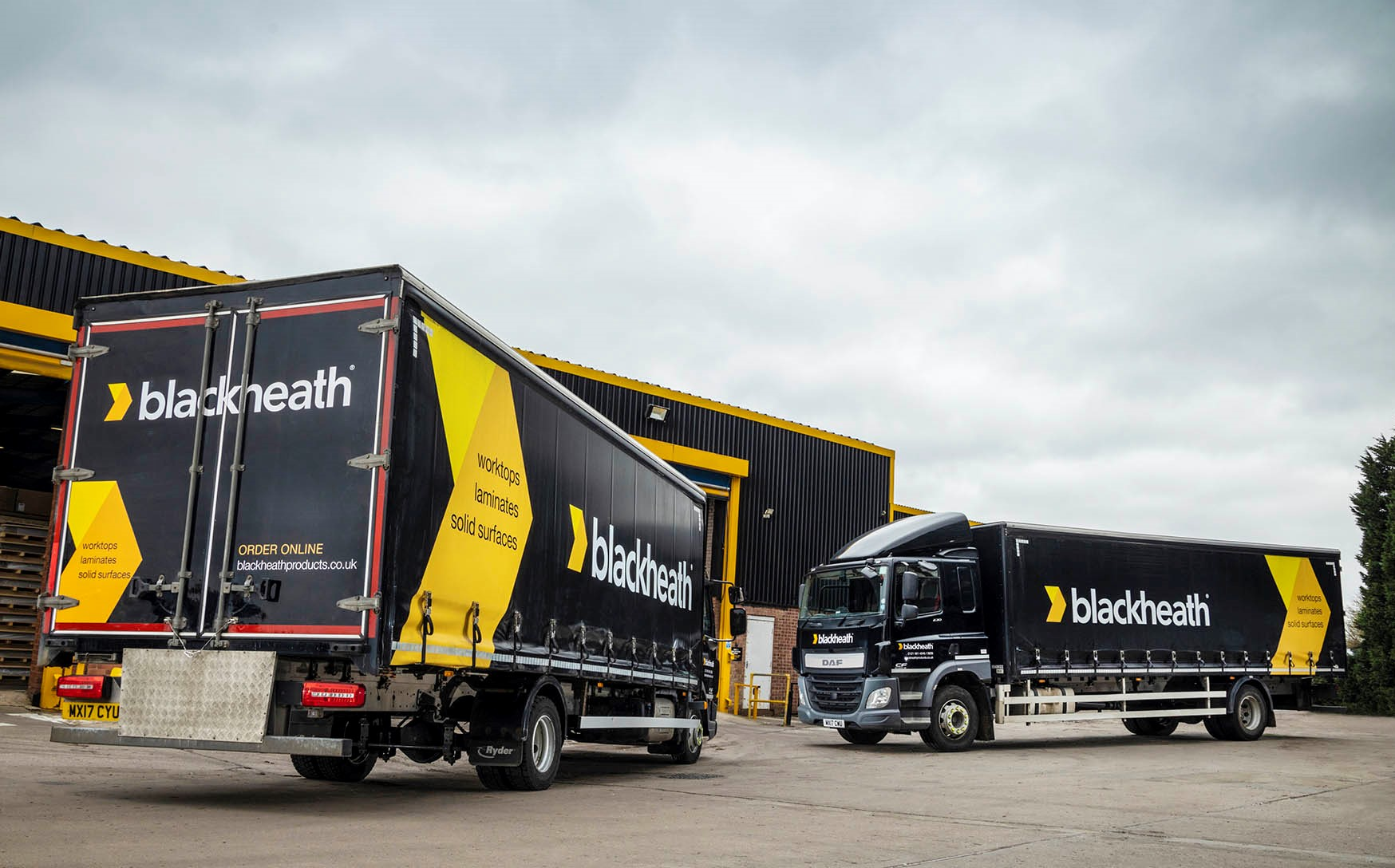 Our trucks have a smart new look