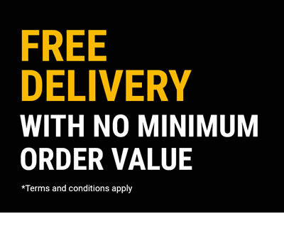 Free Delivery With No Minimum Order Value